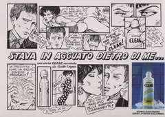 Copertina CARTOLINE CREPAX n.1 - STAVA IN AGUATO DIETRO DI ME..., CARTOLINE BIGLIETTI POSTER