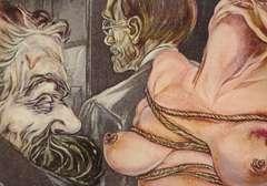 Copertina CARTOLINE MARIANI n.2 - LEGAME NIETZSCHE E FREUD, CARTOLINE BIGLIETTI POSTER
