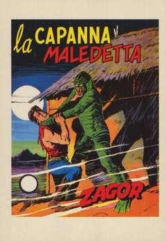Copertina CARTOLINE ZAGOR n.12 - LA CAPANNA MALEDETTA, CARTOLINE BIGLIETTI POSTER