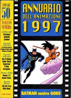 Copertina ANNUARIO DEL CINEMA 1997 n. - BATMAN CONTRO GOKU, CARTOON CLUB