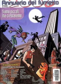 Copertina ANNUARIO DEL FUMETTO n.11 - SIAMO PICCOLI, MA CRESCEREMO, CARTOON CLUB