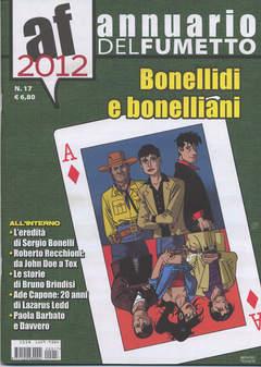 Copertina ANNUARIO DEL FUMETTO n.17 - BONELLIDI E BONELLIANI, CARTOON CLUB