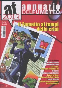Copertina ANNUARIO DEL FUMETTO n.18 - 2013, CARTOON CLUB
