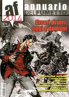 Copertina ANNUARIO DEL FUMETTO n.19 - 2014, CARTOON CLUB