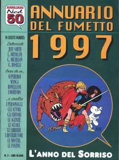 Copertina ANNUARIO DEL FUMETTO n.3 - L'ANNO DEL SORRISO, CARTOON CLUB