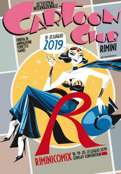 Copertina CARTOON CLUB n.20 - CATALOGO 2019, CARTOON CLUB