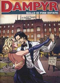 Copertina DAMPYR Albo Spec. Riminicomix n.3 - 2013 - BALLO DI FINE ESTATE, CARTOON CLUB