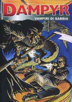 Copertina DAMPYR Spec. Riminicomix Rist. n.1 - 2004 - VAMPIRI DI SABBIA, CARTOON CLUB