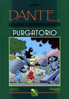 Copertina DIVINA COMMEDIA A FUMETTI n.2 - PURGATORIO, CARTOON CLUB