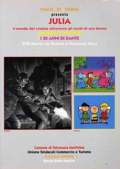 Copertina FALCONARA CATALOGO n.2 - 2000 JULIA/DANTE/I PEANUTS, CARTOON CLUB