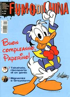Copertina FUMO DI CHINA n.174 - FUMO DI CHINA, CARTOON CLUB