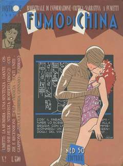 Copertina FUMO DI CHINA n.2 - FUMO DI CHINA, CARTOON CLUB