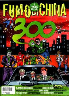 Copertina FUMO DI CHINA n.300 - FUMO DI CHINA, CARTOON CLUB