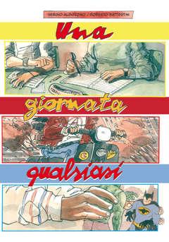Copertina GIORNATA QUALSIASI n. - UNA GIORNATA QUALSIASI, CARTOON CLUB