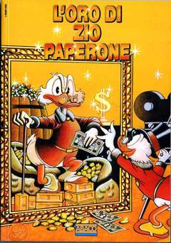 Copertina MONOGRAFIE & CATALOGHI n.8 - L'ORO DI ZIO PAPERONE, CARTOON CLUB
