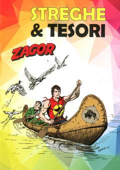 Copertina ZAGOR STREGHE E TESORI n. - LA STREGA/LA MAPPA DEL TESORO, CARTOON CLUB
