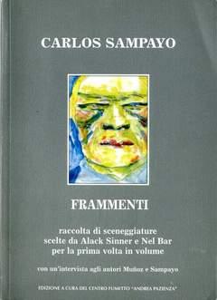 Copertina FRAMMENTI SCENEGGIATURE n. - FRAMMENTI, CENTRO FUMETTO ANDREA PAZIENZA
