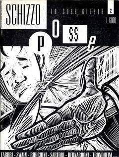 CENTRO FUMETTO ANDREA PAZIENZA - SCHIZZO POSSE