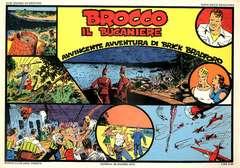 Copertina BRICK BRADFORD STRISCE GIORNAL n.3 - BROCCO IL BUCANIERE, CLUB ANNI TRENTA