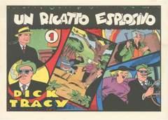 Copertina DICK TRACY 24A+4VOL.1953/1940 n. - 24albi+4vol. bros 7/9/53-24/11/56, CLUB DEI 40