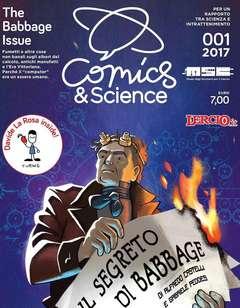 Copertina COMICS&SCIENCE n.5 - 01/2017 - THE BABBAGE ISSUE, CNR EDIZIONI