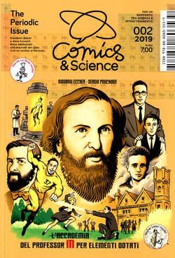 Copertina COMICS&SCIENCE n.10 - THE PERIODIC ISSUE, CNR EDIZIONI