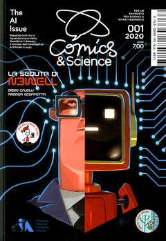 Copertina COMICS&SCIENCE n.11 - 001/2020 - THE AI ISSUE, CNR EDIZIONI
