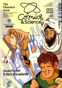 Copertina COMICS&SCIENCE n.12 - 003 2020 - THE FIBONACCI ISSUE, CNR EDIZIONI