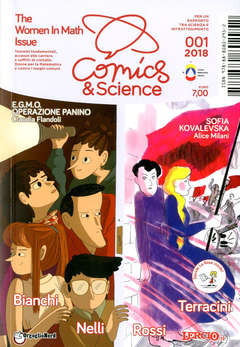 Copertina COMICS&SCIENCE n.7 - CLAUDIA FLANDOLI, ALICE MILANI, CNR EDIZIONI