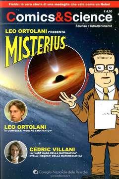 Copertina COMICS&SCIENCE n.1 - LEO ORTOLANI, MISTERIUS, CNR EDIZIONI