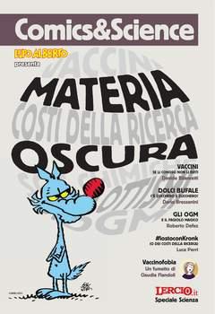 Copertina COMICS&SCIENCE n.3 - LUPO ALBERTO: MATERIA OSCURA, CNR EDIZIONI