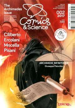 Copertina COMICS&SCIENCE n.6 - PALUMBO Giuseppe , THE ARCHIMEDES ISSUE, CNR EDIZIONI