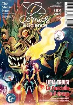 Copertina COMICS&SCIENCE n.9 - THE STELLAR ISSUE, CNR EDIZIONI