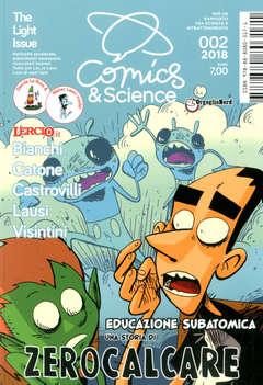 Copertina COMICS&SCIENCE n.8 - ZEROCALCARE, EDUCAZIONE SUBATOMICA, CNR EDIZIONI