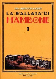 Copertina BALLATA DI HAMBONE n.1 - LA BALLATA DI HAMBONE, COCONINO PRESS