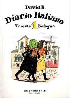 Copertina DIARIO ITALIANO n.1 - TRIESTE BOLOGNA, COCONINO PRESS