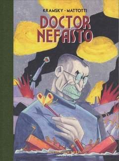 Copertina DOCTOR NEFASTO n.0 - DOCTOR NEFASTO, COCONINO PRESS