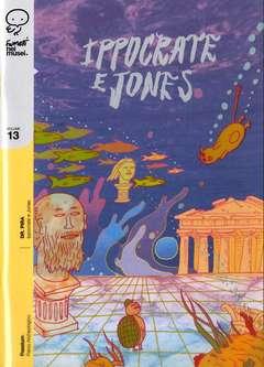 Copertina FUMETTI NEI MUSEI n.13 - IPPOCRATE E JONES, COCONINO PRESS