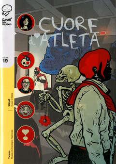 Copertina FUMETTI NEI MUSEI n.19 - CUORE D'ATLETA, COCONINO PRESS