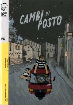 Copertina FUMETTI NEI MUSEI n.26 - CAMBI DI POSTO, COCONINO PRESS