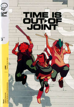 Copertina FUMETTI NEI MUSEI n.3 - TIME IS OUT JOINT, COCONINO PRESS