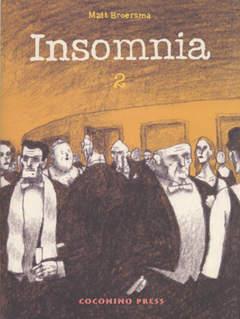 Copertina INSOMNIA n.2 - INSOMNIA VOL. 2, COCONINO PRESS