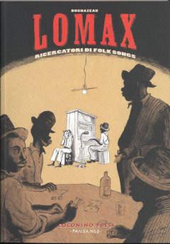 Copertina LOMAX n.0 - RICERCATORI DI FOLK SONGS, COCONINO PRESS