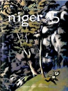 Copertina NIGER n.5 - NIGER, COCONINO PRESS