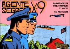 Copertina AGENTE SEGRETO X-9 n.10 - Indagine pericolosa, Parte 1 , COMIC ART