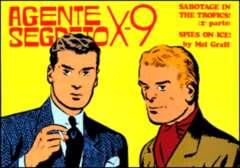 Copertina AGENTE SEGRETO X-9 n.11 - Indagine pericolosa, Parte 2, COMIC ART