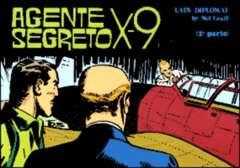 Copertina AGENTE SEGRETO X-9 n.16 - Lady Diplomat, Parte 2, COMIC ART