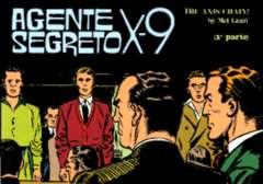 Copertina AGENTE SEGRETO X-9 n.17 - The Axis Chain, Parte 1 , COMIC ART