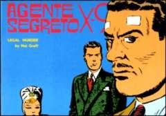 Copertina AGENTE SEGRETO X-9 n.20 - Legal murder , COMIC ART