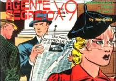 Copertina AGENTE SEGRETO X-9 n.5 - Armi segrete, Parte 2 , COMIC ART